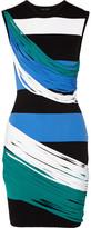 Ohne Titel Striped Piqué Mini Dress