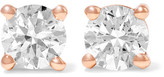 Anita Ko 18-karat Gold Diamond Earrings - Rose gold