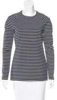 Thakoon Striped Long Sleeve Top