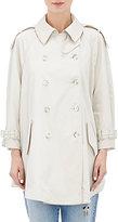 Stella McCartney Women's Elsina Double-Breasted Trench Jacket-LIGHT GREY
