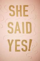 BHLDN She Said Yes! Banner