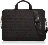 Marc Jacobs Logo Tech Commuter 15 Laptop Case