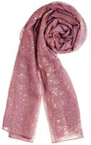 Evergreen Metallic Sparkle Scarf