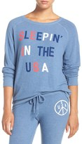 Junk Food Clothing Sleeping In The USA Crew Neck Pullover