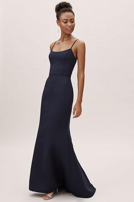 BHLDN Moe Dress By in Blue Size 20
