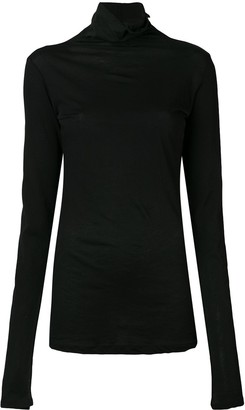 Unravel Project Mock Neck Sweater