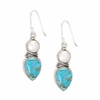Hink Home HINK-Home Earrings New Pearl Turquoise Fashion Bridal Earring Jewelry Earrings Women's Jewelry Easter Gifts
