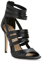 Via Spiga Tavi Leather Cage Heels