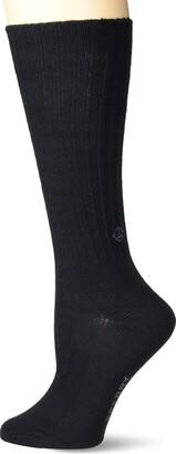 Sperry Women's Solid Boyfriend Crew Socks