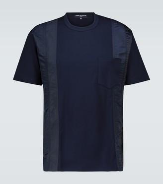 Comme des Garçons Homme Paneled short-sleeved T-shirt
