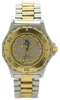 Tag Heuer 3000 934.213 Stainless Steel & Gold Plated with Gray Dial 35mm Unisex Watch