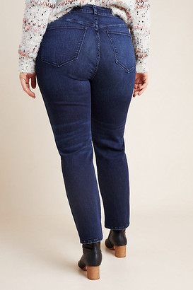 DL1961 Mara Ultra High-Rise Straight Plus Jeans By in Black Size 16W