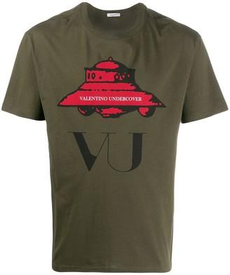 Valentino x Undercover UFO print T-shirt