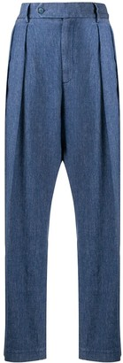 Barena Pleated Wide-Leg Trousers