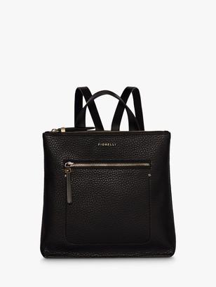 Fiorelli Finley Small Zip Top Backpack, Black