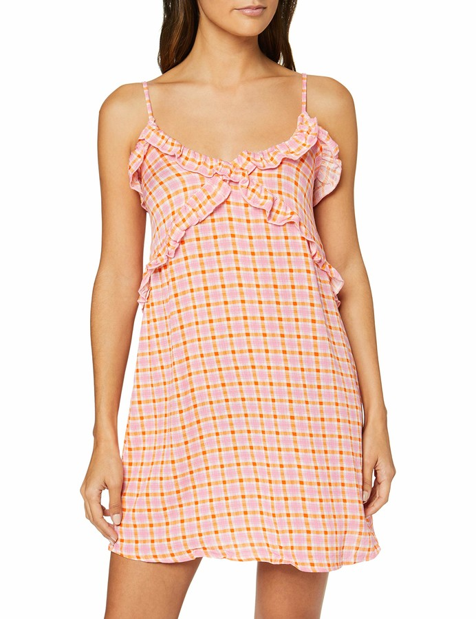 V&A Women's Secret Summer Va Ruffle Dress Rose