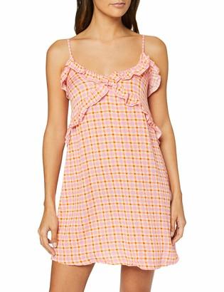 V&A Women's Secret Summer Va Ruffle Dress Rose