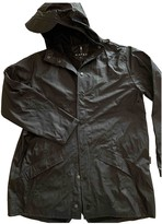 Rains Anthracite Synthetic Trench coats