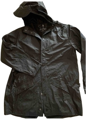 Rains Anthracite Trench Coat for Women