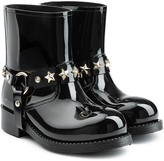 RED Valentino Shiny Rubber Boots