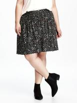 Old Navy Pull-On Plus-Size Swing Skirt