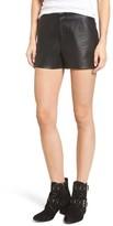 Blank NYC Women's Blanknyc Faux Leather Shorts