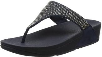 FitFlop Womens Slinky Rokkit Post T-Bar Sandals