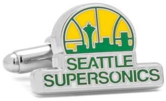 Cufflinks Inc. NBA Seattle Supersonics Cuff Links