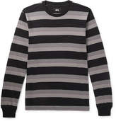 Stussy Striped Cotton-Jersey T-Shirt