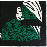 Salvatore Ferragamo 'Farfella' scarf - women - Silk - One Size