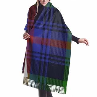 Meiya Design Women's Fall Winter Scarf Urquhart Clan Tartan Classic Scarf Warm Soft Large Blanket Wrap Shawl Scarves