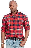 Polo Ralph Lauren Big & Tall Tartan Plaid Oxford Shirt