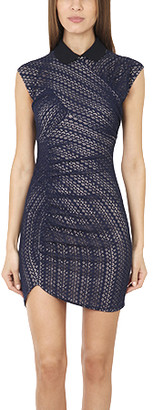 Charlotte Ronson Zig Zag Knit Bodycon Dress