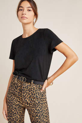 Anthropologie Viola Sueded Tee