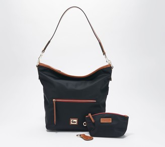 Dooney & Bourke Wayfarer Nylon Hobo with Accessories