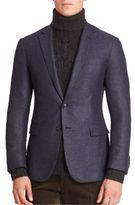 Ralph Lauren Purple Label Cashmere Silk Blend Blazer