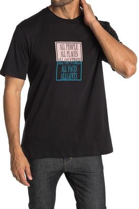 AllSaints Embrace Short Sleeve Graphic Shirt