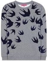 McQ by Alexander McQueen Cotton-blend sweatshirt with appliqué