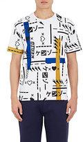 Kenzo Men's Emoji-Print T-Shirt-WHITE