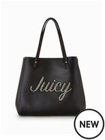 Juicy Couture Embellished Tote Bag - Black