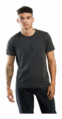 GUESS Men's Acid Washed Jersey Tee