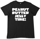 Micro Me Black 'Peanut Butter Jelly Time' Tee - Infant Toddler & Boys