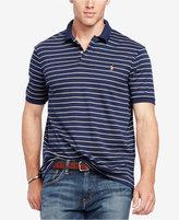 Polo Ralph Lauren Men's Big & Tall Striped Pima Soft-Touch Polo