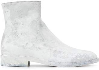 Maison Margiela painted effect ankle boots