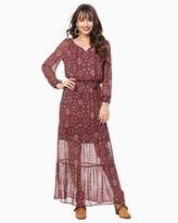 Charming charlie Ornate Maxi Dress