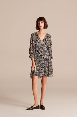Rebecca Taylor Zebra Lily Dress