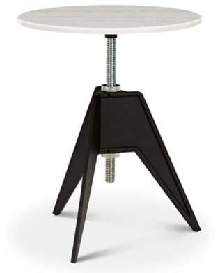 Tom Dixon Screw Base Marble Round Cafe Table