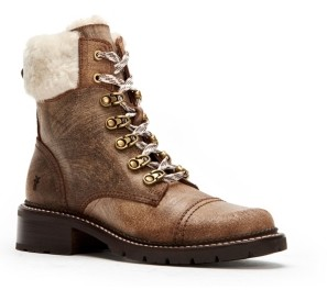 Frye Samantha Hiker Boots Women's Shoes