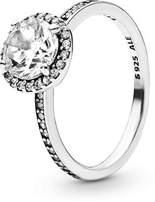 Pandora Timeless Classic Elegance CZ Ring (Clear) Ring