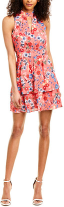 Parker Fit-N-Flare Keyhole A-Line Dress